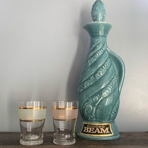 Set of 2 Vintage Shot Glasses